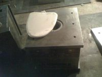 toilet cover mold