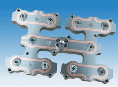 hot runner for the injection mould