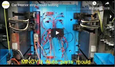 car interior strip mould